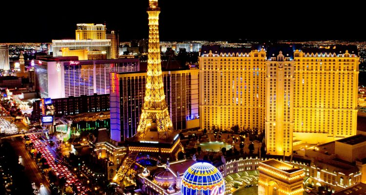 The Strip at night, Las Vegas, Nevada, United States of America - getty creative